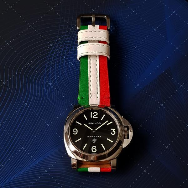 Threesome Italian Flag  Gunny Store - Gunny Straps -3049
